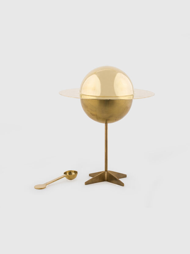10874 COSMIC  DINER, Gold - Home Accessories
