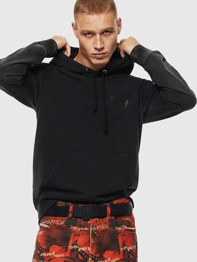 Diesel - S-GIRK-HOOD-SUN, Black - Sweaters - Image 6