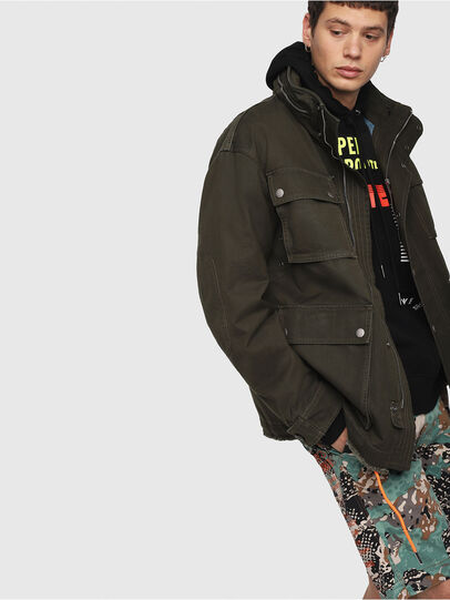 Diesel - J-TOUCHA,  - Jackets - Image 3