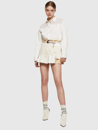Diesel - O-AMATA-A, Cream - Skirts - Image 6