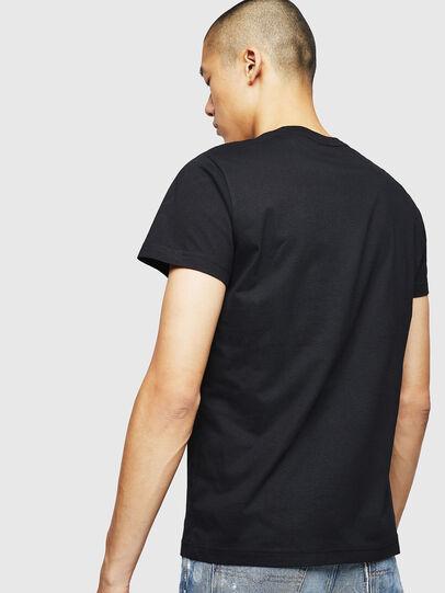 Diesel - T-DIEGO-B4, Black - T-Shirts - Image 2
