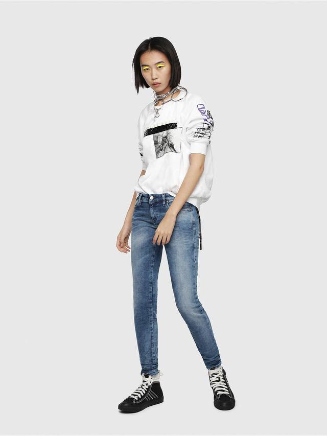 Diesel - Gracey JoggJeans 080AS, Medium blue - Jeans - Image 4