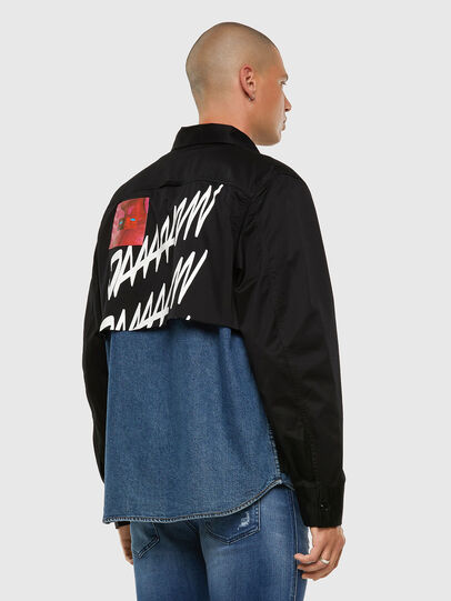 Diesel - S-DUSTIN, Black - Shirts - Image 8