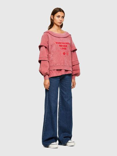 Diesel - F-STRAT, Pink - Sweaters - Image 5