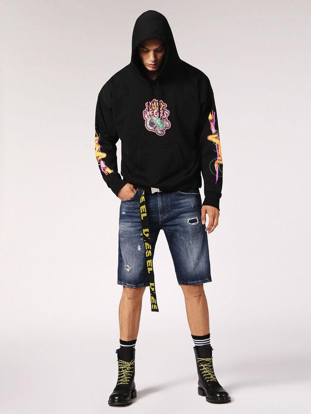 Diesel - THOSHORT, Blue Jeans - Shorts - Image 5
