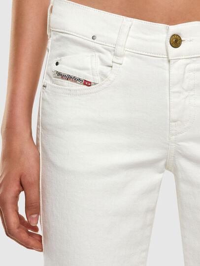Diesel - D-Ebbey 069PA, White - Jeans - Image 3