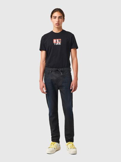 Diesel - D-VIDER JoggJeans® 069XN, Black/Dark grey - Jeans - Image 5