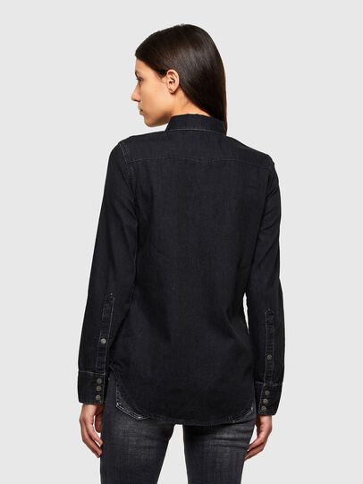 Diesel - DE-RINGY, Black - Denim Shirts - Image 2