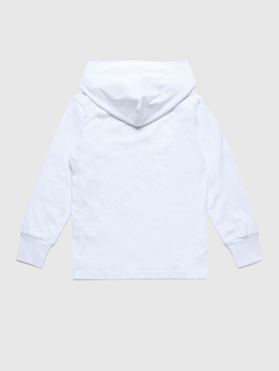Diesel - TDIEGOHOODS3 ML, White - T-shirts and Tops - Image 2
