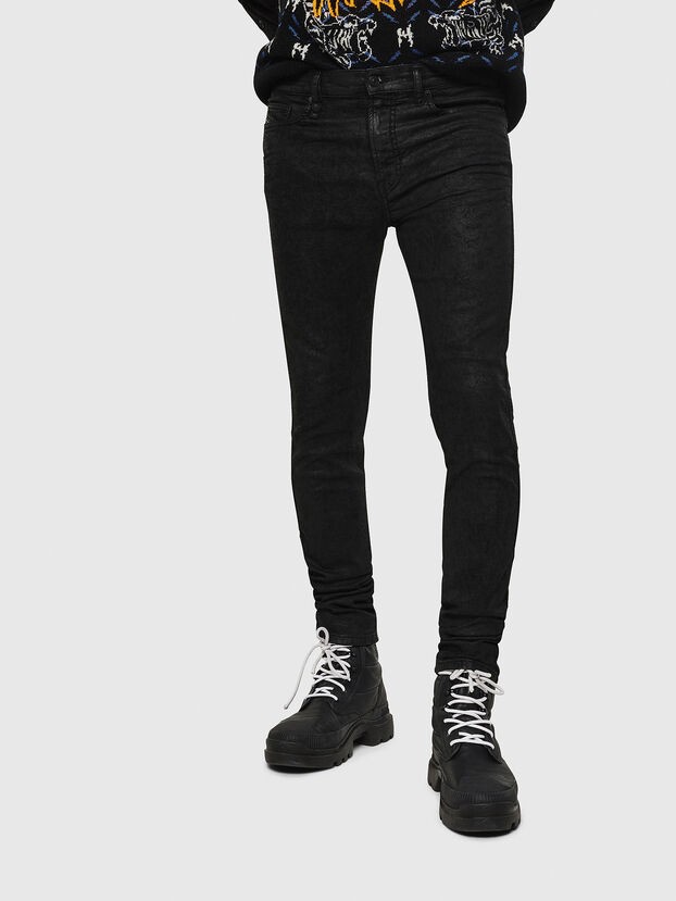 D-Reeft JoggJeans 084AG, Black/Dark grey - Jeans
