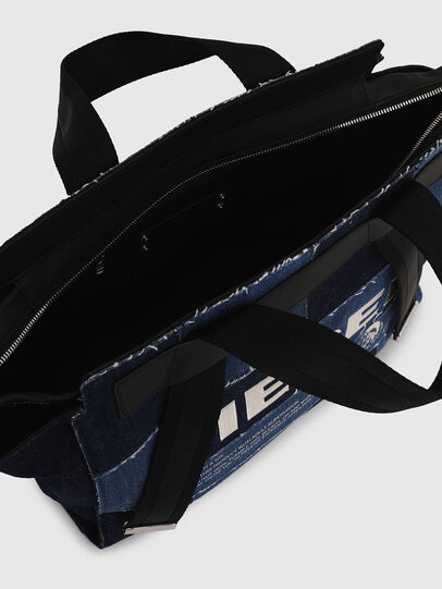 Diesel - F-CAORLY SATCHEL M, Blue - Satchels and Handbags - Image 6