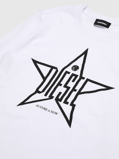 Diesel - TDIEGOYH-ML, White - T-shirts and Tops - Image 3