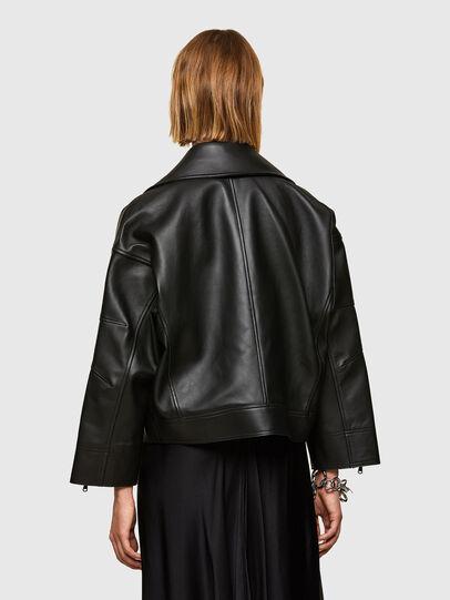 Diesel - L-HAZEL, Black - Leather jackets - Image 2