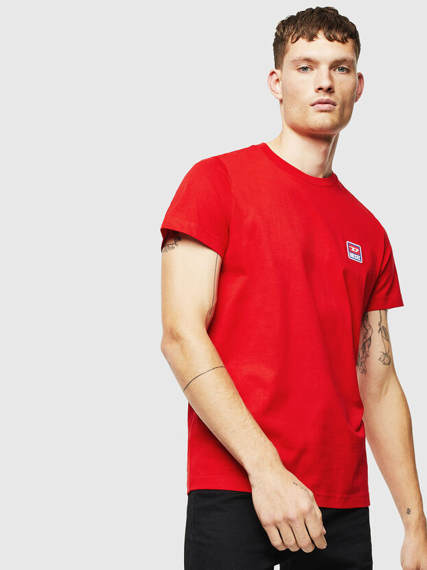 T-DIEGO-DIV, Red - T-Shirts