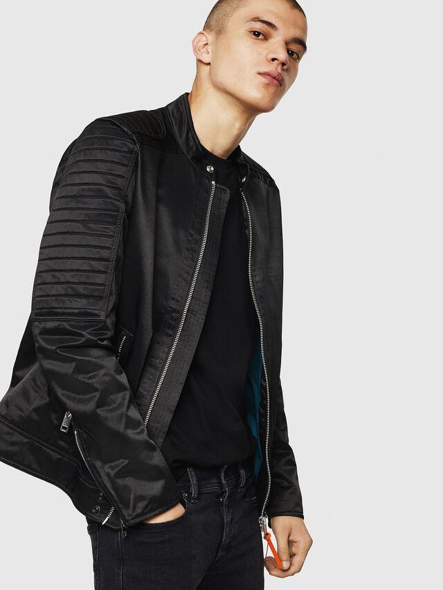 Diesel - J-SHIRO, Black - Jackets - Image 5