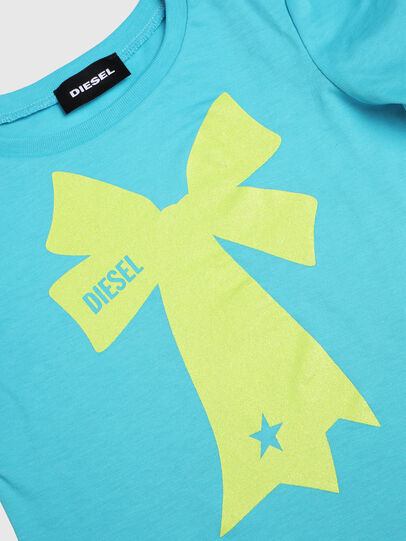 Diesel - TASHAB-R, Azure - T-shirts and Tops - Image 3