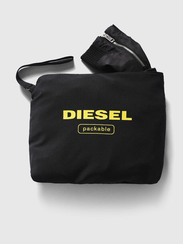 Diesel - J-FOLLYER, Black - Jackets - Image 3