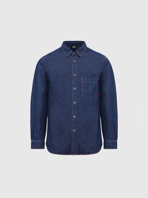 D-BILLY, Dark Blue - Denim Shirts