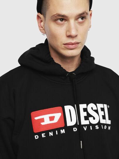 Diesel - S-DIVISION, Black - Sweaters - Image 3