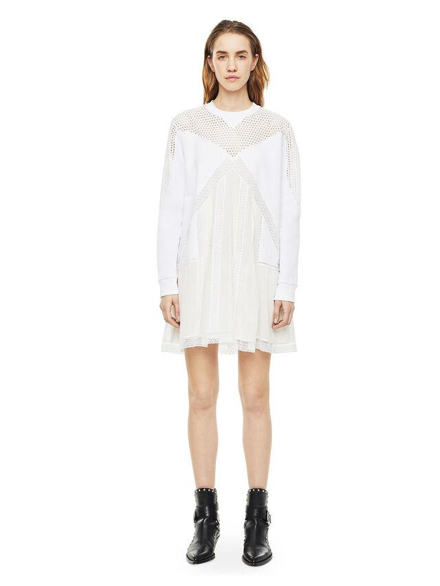 Diesel - DEMIX, White - Dresses - Image 1