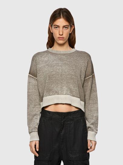 Diesel - M-CALIFORNIA, Light Grey - Knitwear - Image 1