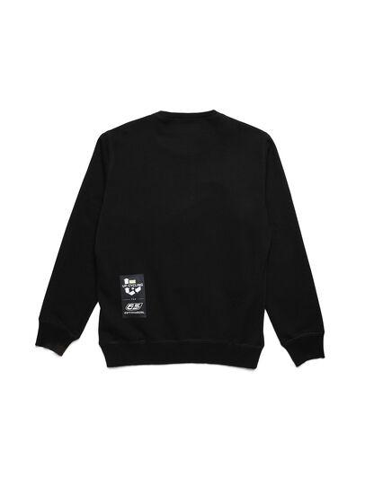 Diesel - D-HALF&HALF, Black - Sweaters - Image 2