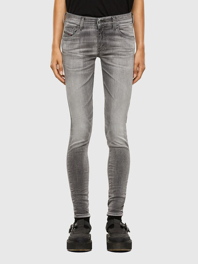 Diesel - Slandy Low 009FD, Light Grey - Jeans - Image 1
