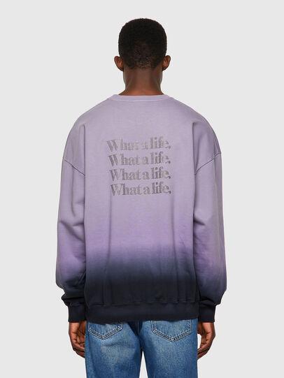 Diesel - S-MART-B4, Blue/Violet - Sweaters - Image 3