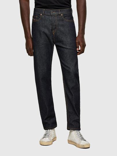 Diesel - D-Vider 009HF, Dark Blue - Jeans - Image 1