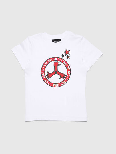 Diesel - TARTB-R, White - T-shirts and Tops - Image 1