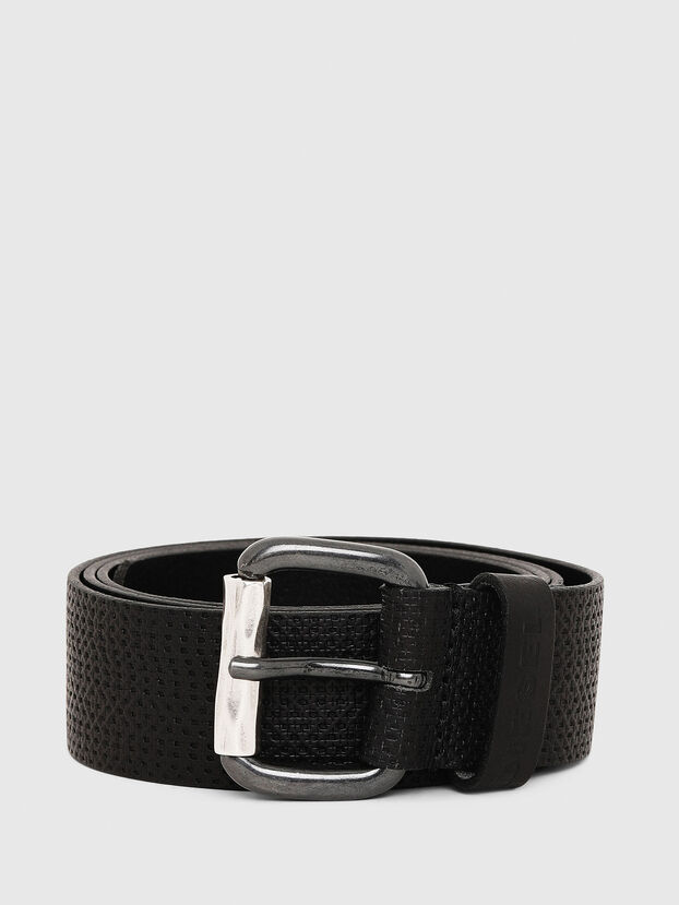 B-ROLLY, Black Leather - Belts