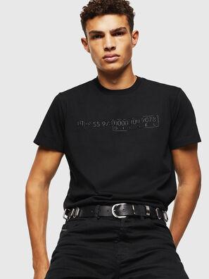 T-DIEGO-SLITS-J6, Black - T-Shirts