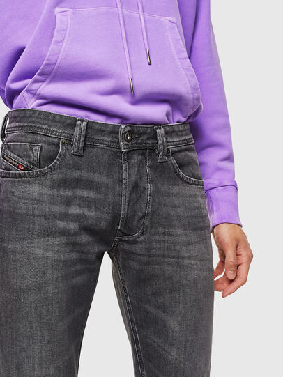 Diesel - Larkee 0095I, Black/Dark grey - Jeans - Image 3