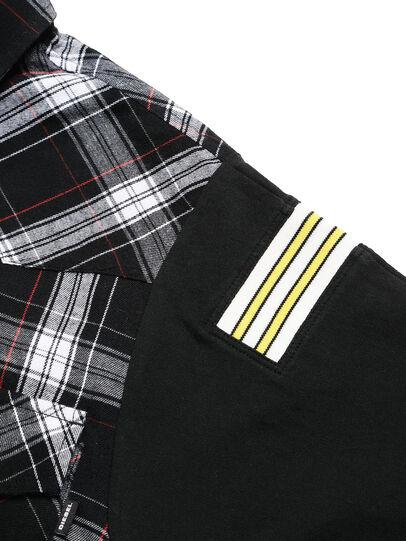 Diesel - D-WESTERNSPORT-C, Black - Shirts - Image 4