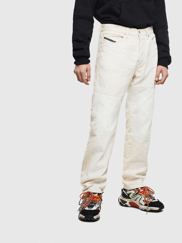 D-Macs 009BA, White - Jeans