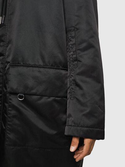 Diesel - W-ADAM, Black - Winter Jackets - Image 7