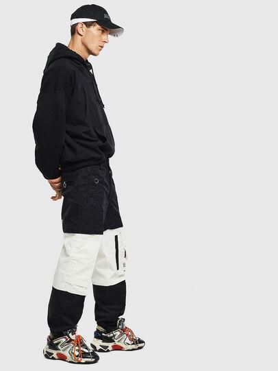 Diesel - P-MELTY, Black/White - Pants - Image 4