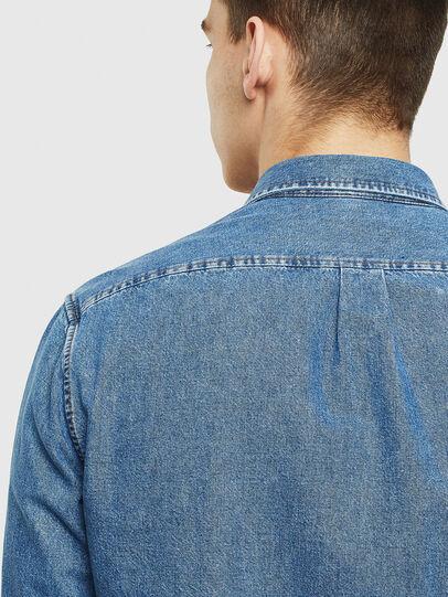 Diesel - D-BER-P, Blue Jeans - Denim Shirts - Image 5