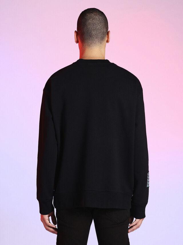 Diesel - LU-S-BAY, Black - Sweaters - Image 2