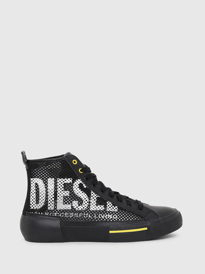 Diesel - S-DESE MID CUT, Black/Yellow - Sneakers - Image 1