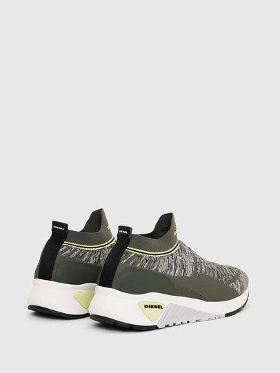 Diesel - S-KB ATHL SOCK II, Olive Green - Sneakers - Image 3