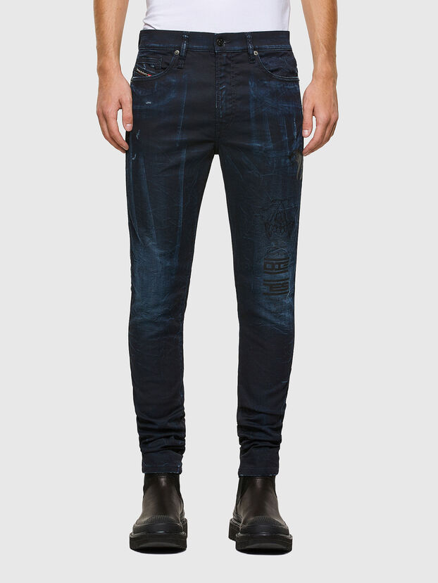 D-REEFT JoggJeans® 069RB, Dark Blue - Jeans