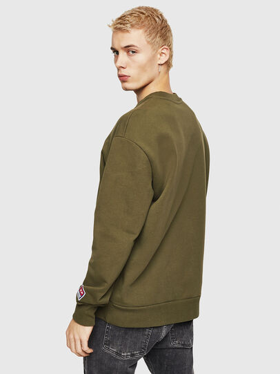 Diesel - S-CREW-DIVISION-D,  - Sweaters - Image 2