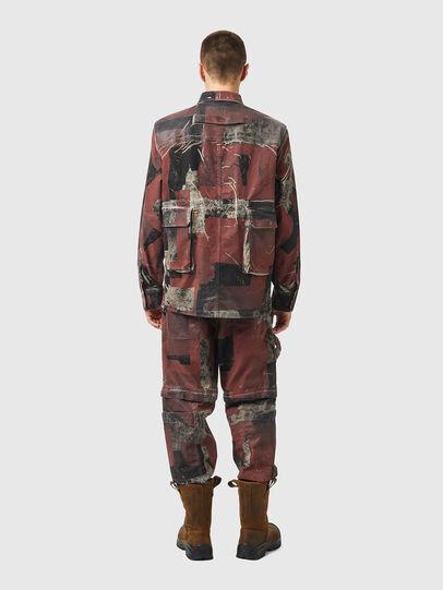 Diesel - D-CORU-SP JOGGJEANS, Black/Brown - Denim Shirts - Image 5