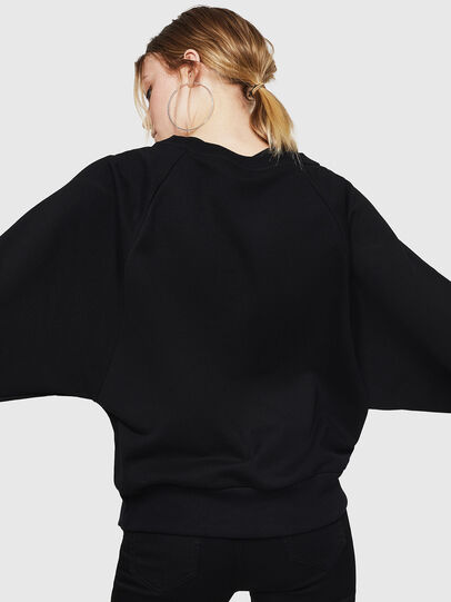 Diesel - F-HENNY-E, Black - Sweaters - Image 2