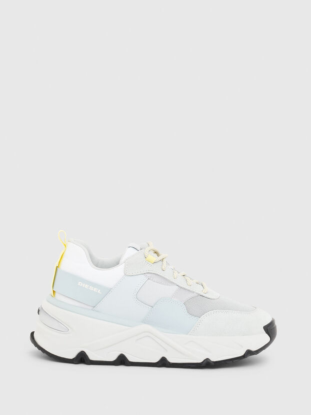 S-HERBY LOW, White/Blue - Sneakers