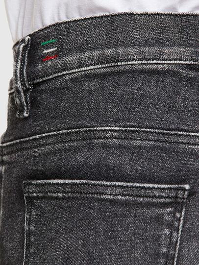 Diesel - D-Istort 009EX, Black/Dark grey - Jeans - Image 5