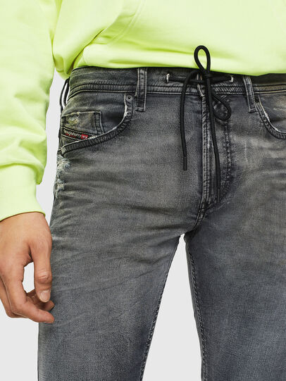 Diesel - Thommer JoggJeans 069KK, Black/Dark grey - Jeans - Image 3
