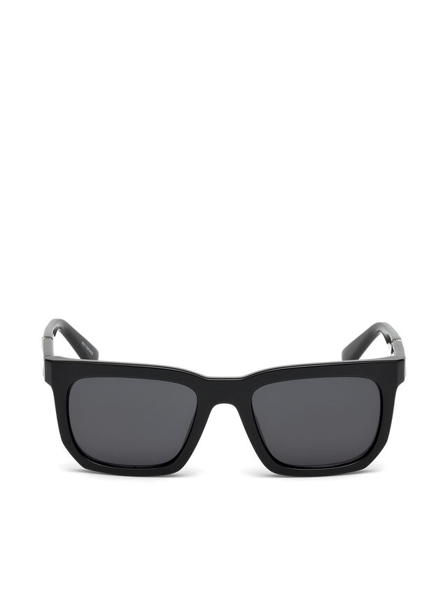 Diesel DL0254, Black - Eyewear - Image 1