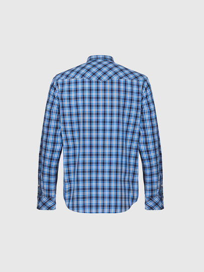 Diesel - S-EAST-LONG-O, Blue/White - Shirts - Image 2